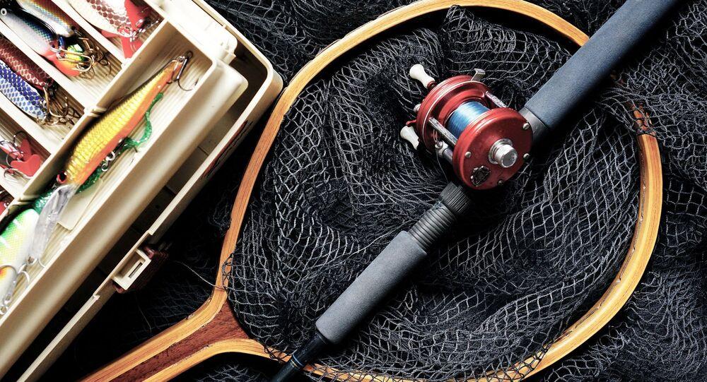Une canne à pêche (image d'illustration)