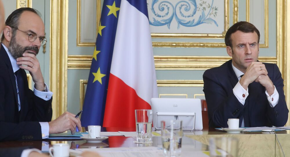 Édouard Philippe et Emmanuel Macron en mars 2020 (illustration).