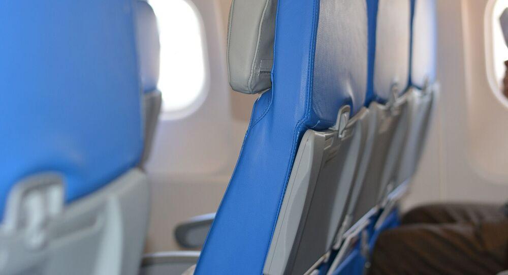 Sièges d'un avion