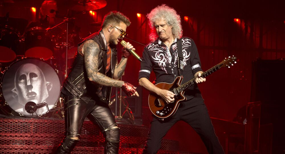 Brian May et Adam Lambert