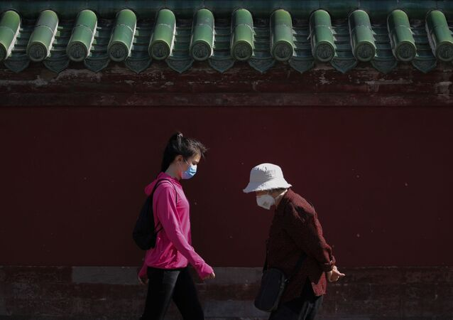 Pékin pendant la pandémie de Covid-19