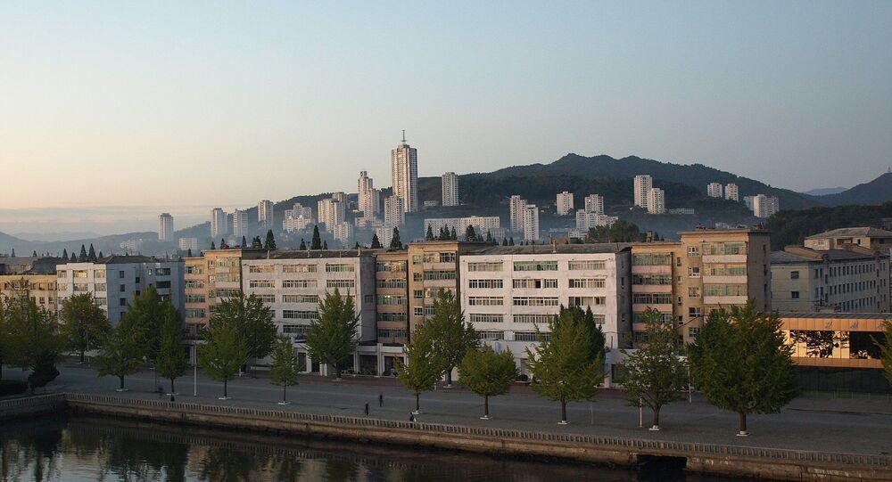 Wonsan, dans la province nord-coréenne de Gangwon (Kangwon)