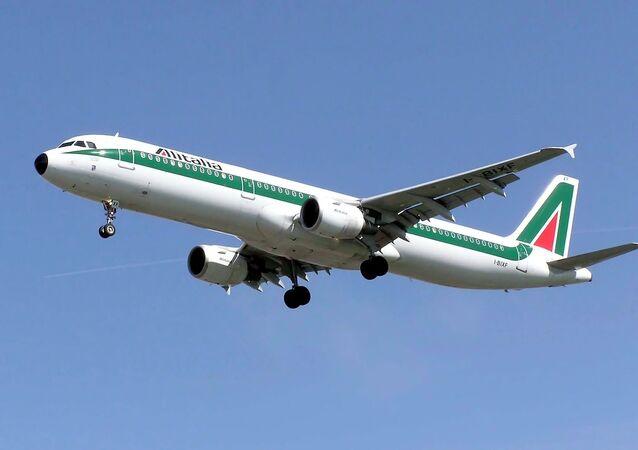 Un avion Alitalia