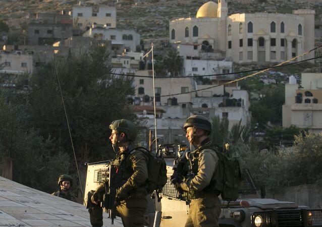 Les forces israéliennes lors d'une opération militaire à Jénine, dans le nord de la Cisjordanie, image d'illustration