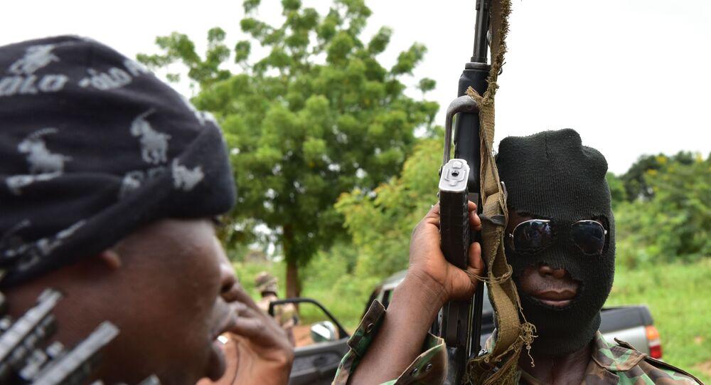 Des rebelles ivoiriens armés