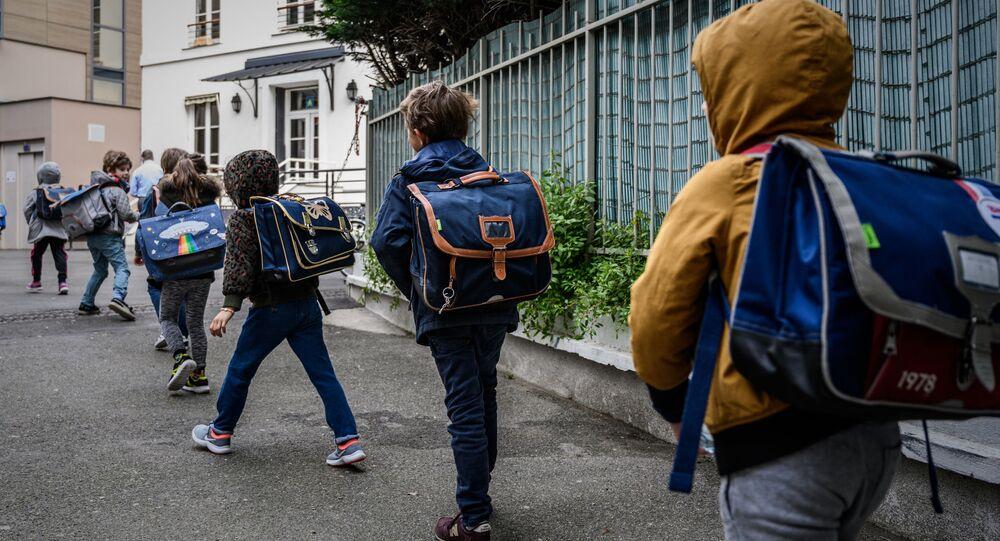 La rentrée dans une école française après le confinement
