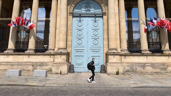 L'entrée de l'Assemblée nationale, 13 mai 2020 - Sputnik France