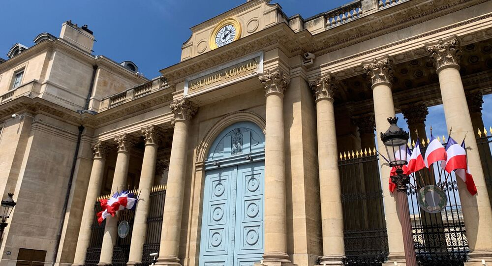 L'entrée de l'Assemblée nationale (photo d'archives)