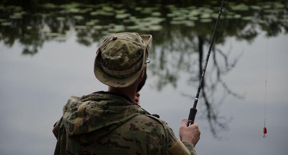 Une pêche