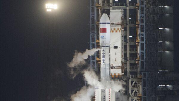 Lancement de la fusée chinoise Longue Marche 7 à Wenchang (Chine). - Sputnik France