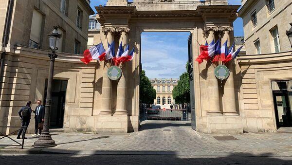 L'entrée de l'Assemblée nationale (photo d'archives) - Sputnik France