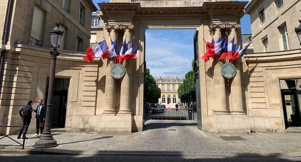 L'entrée de l'Assemblée nationale (photo d'archives)