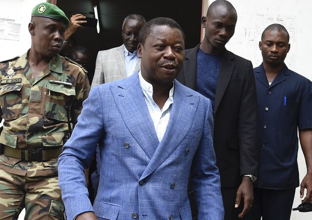 Le Président togolais Faure Gnassibé