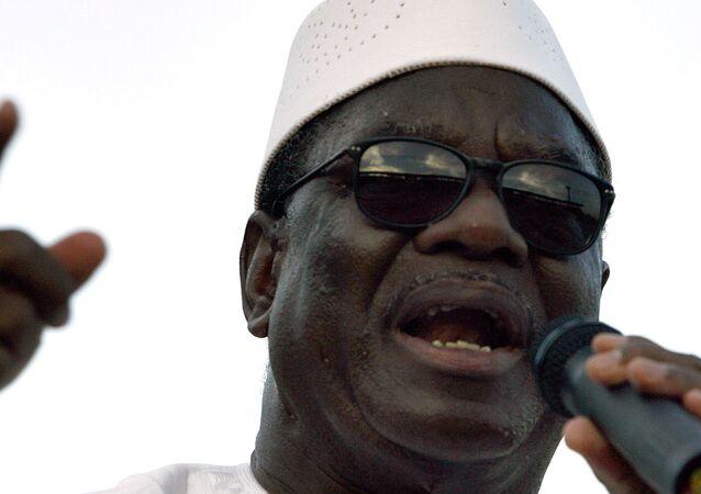 Le Président malien Ibrahim Boubacar Keïta