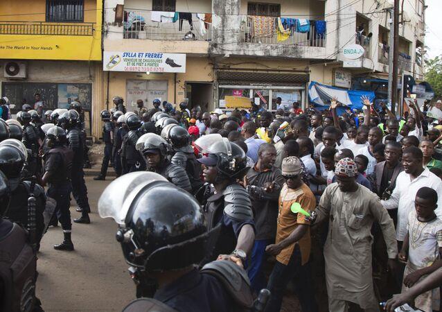 Manifestation à Bamako