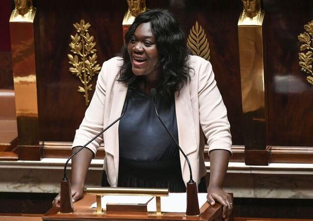La députée Laetitia Avia, à l'Assemblée nationale (image d'illustration).