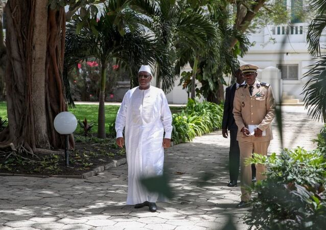 Macky Sall, le Président sénégalais, au palais présidentiel à Dakar, le 28 mai 2019
