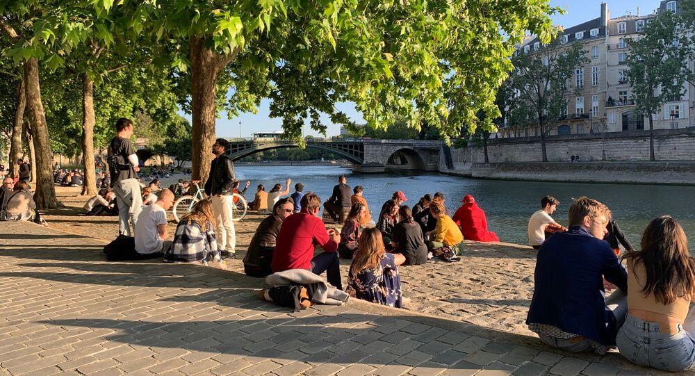 Paris lors de la cinquième journée de déconfinement, 15 mai 2020