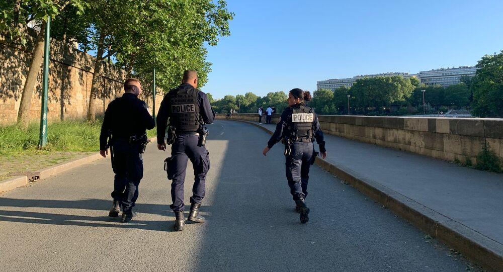 policiers, 15 mai 2020