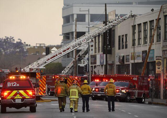 Les pompiers de Los Angeles