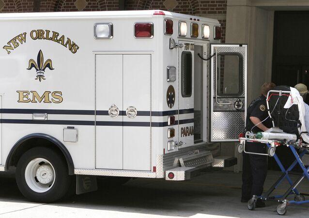 Une ambulance à La Nouvelle-Orléans