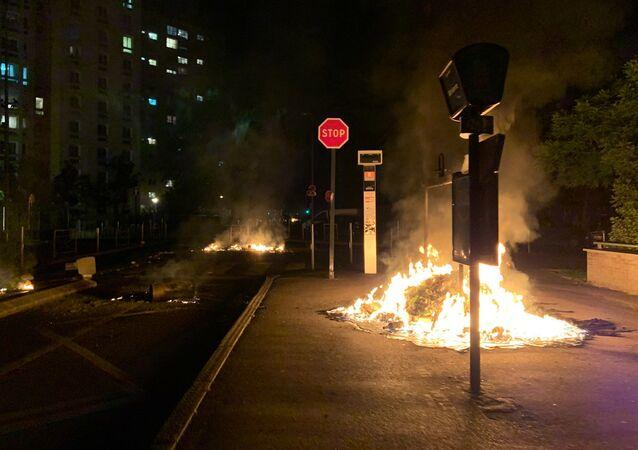 Situation à Argenteuil après la mort d'un jeune dans un crash de moto le 17 mai 2020