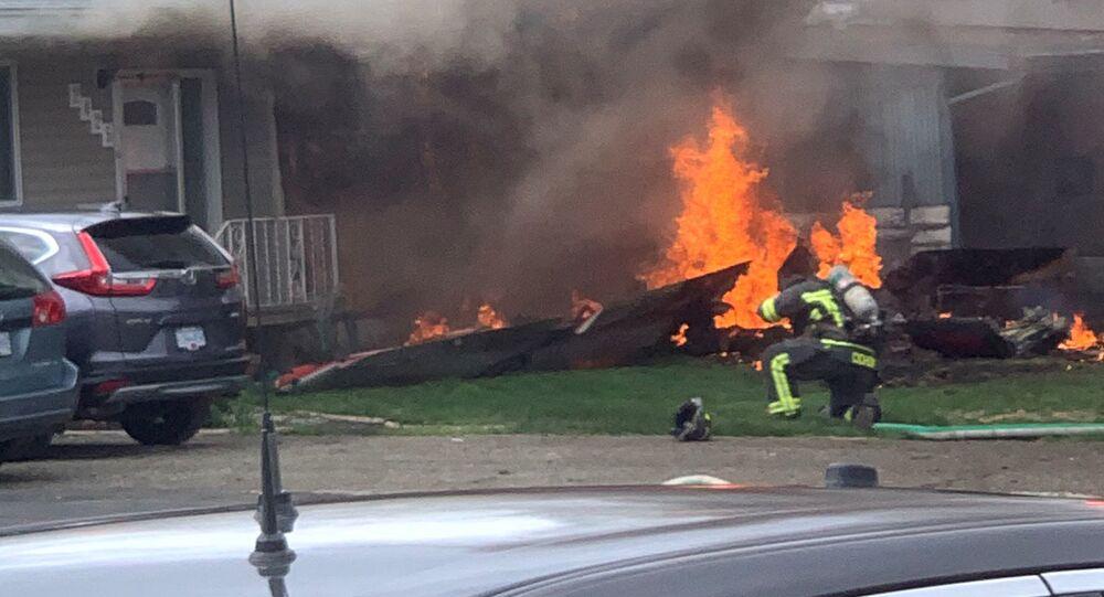 Crash d'un avion de l'armée canadienne en Colombie-Britannique