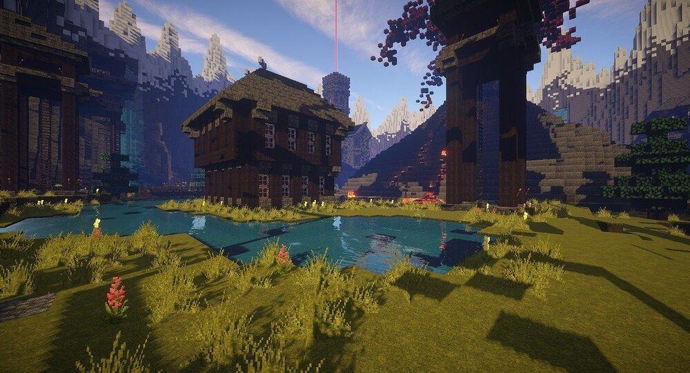 Le jeu vidéo Minecraft, image d'illustration