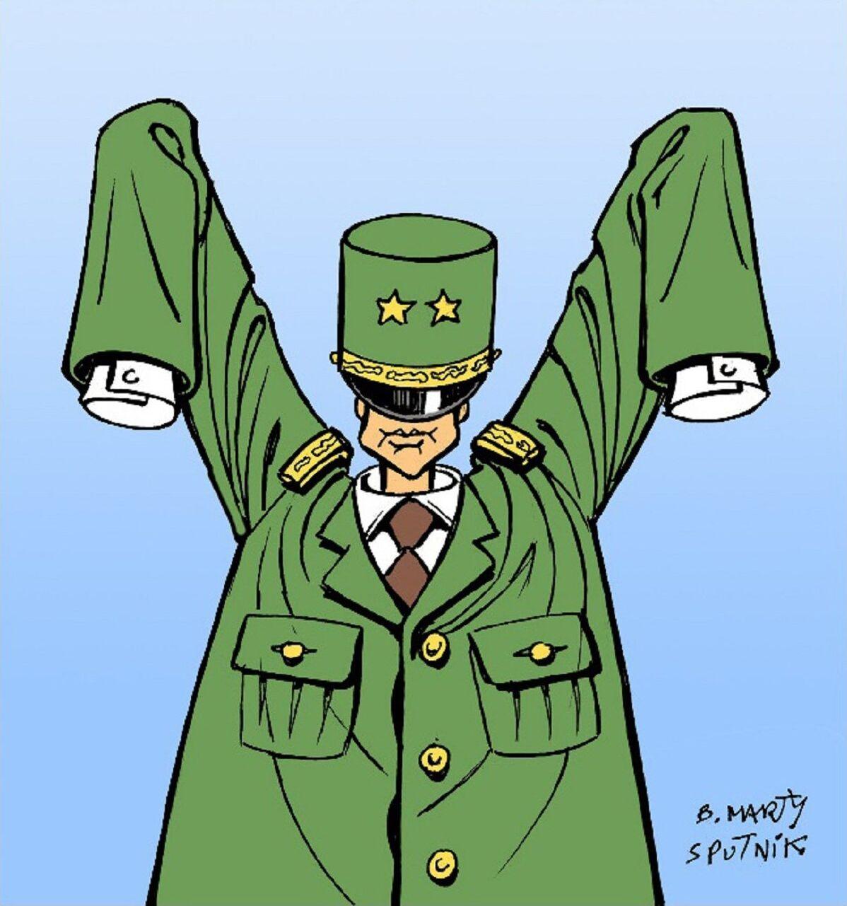 Macron honore de Gaulle sur le site de la bataille de Montcornet, une «imposture abominable»