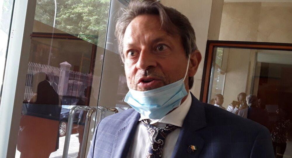 L'ambassadeur de l'Union européenne en Côte d'Ivoire, Jobst von Kirchmann