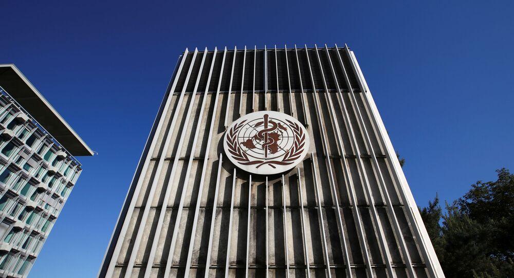 Le siège de l'Organisation mondiale de la santé (OMS)