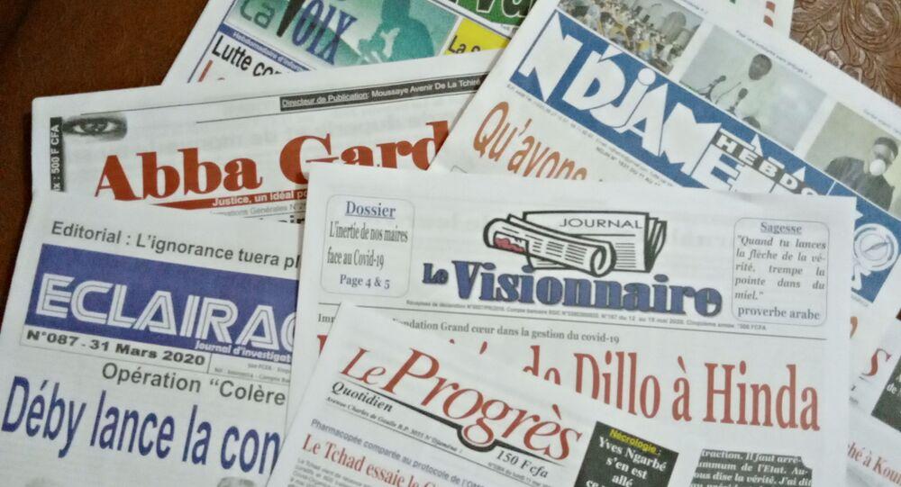 Les journaux du Tchad. Le visionnaire.