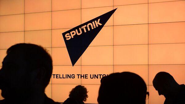 Le logo de Sputnik - Sputnik France