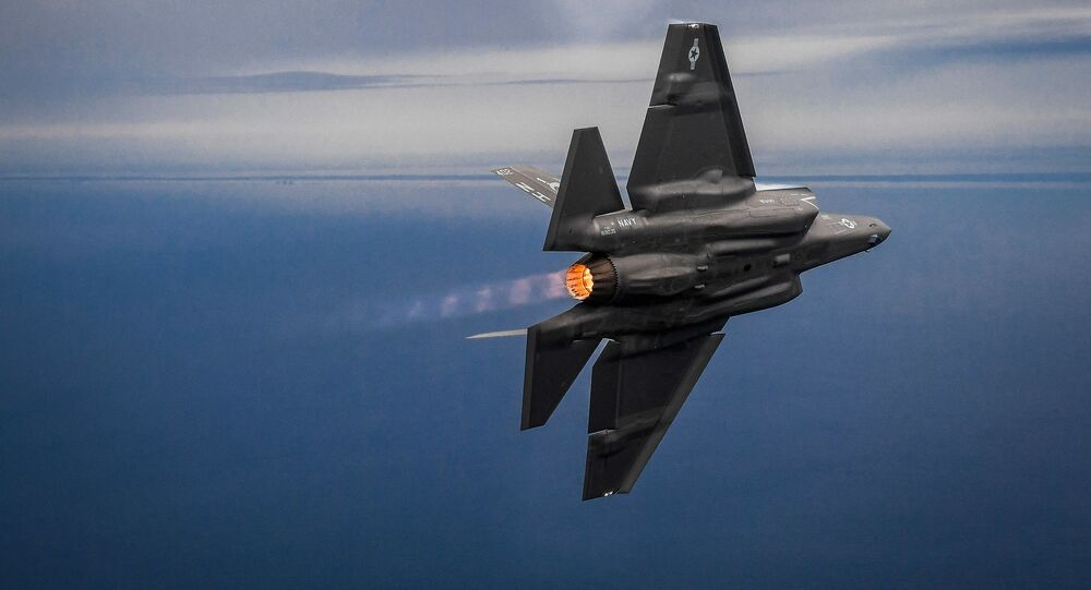 Un chasseur F-35 (archive photo)
