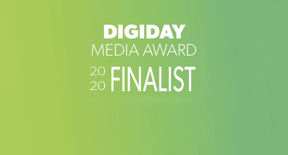 Digiday Media Awards - Finaliste