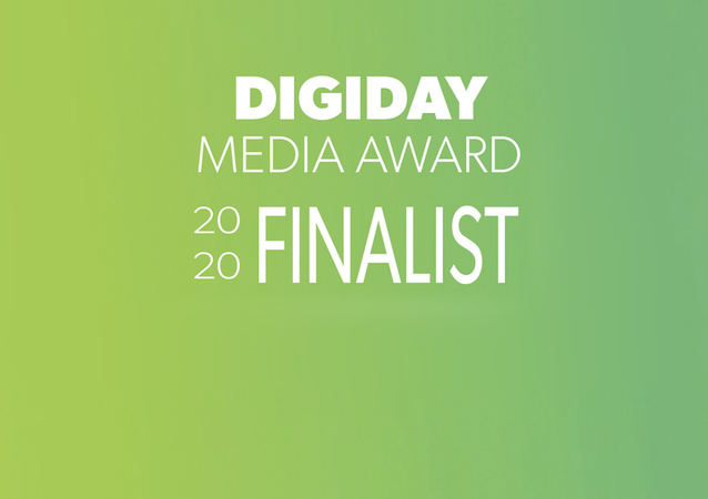 Digiday Media Awards - Finaliste