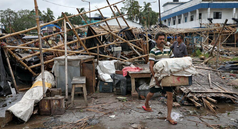 Le cyclone Amphan dévaste des territoires entiers de l'Inde et du Bangladesh