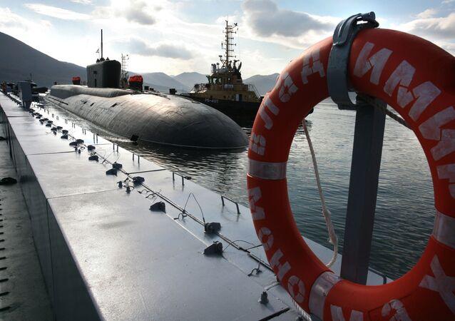 Sous-marin nucléaire russe, image d'illustration