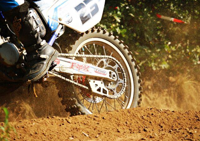 Une motocross, image d'illustration