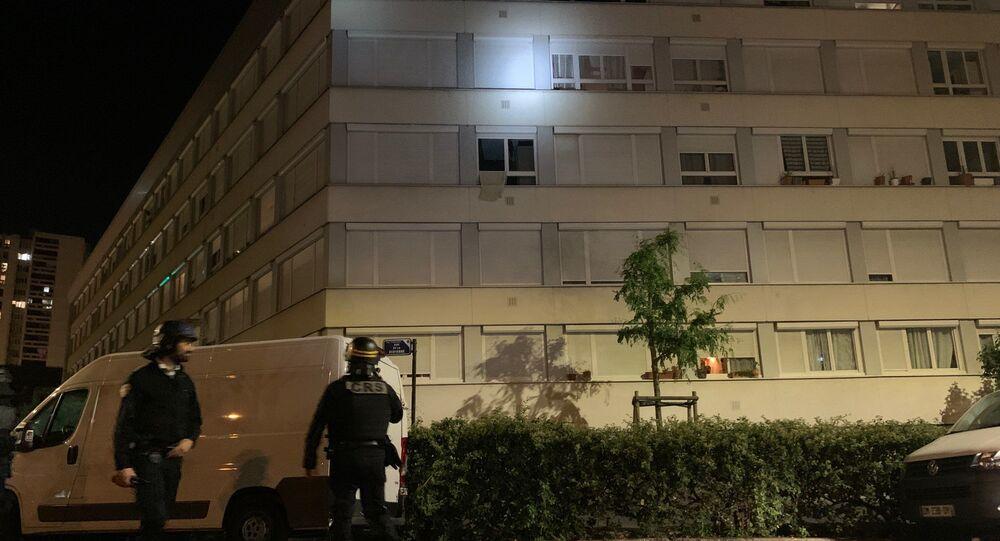Situation à Argenteuil la nuit suivant la marche banche pour Sabri