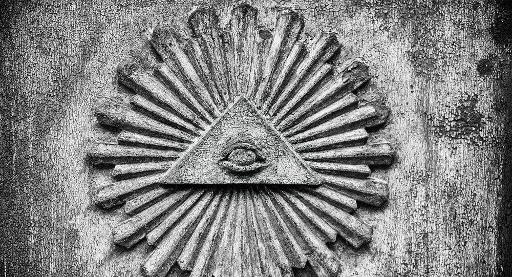 Symbole illuminati, image d'illustration