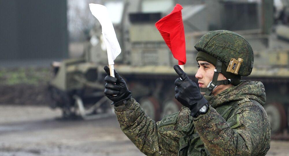 Un militaire russe