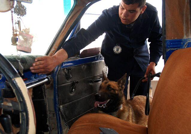 Un officier des douanes tunisien
