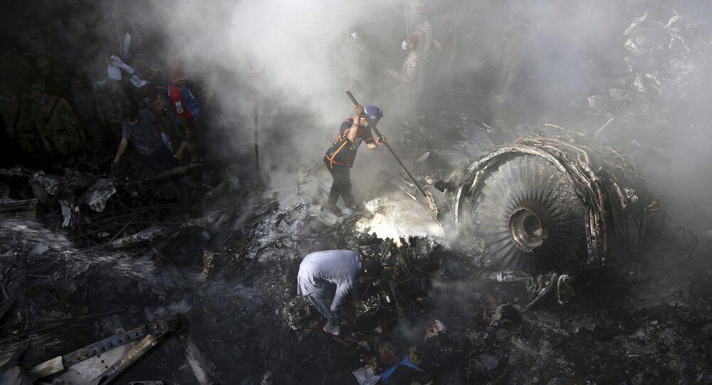 Crash de l'Airbus A320 au Pakistan