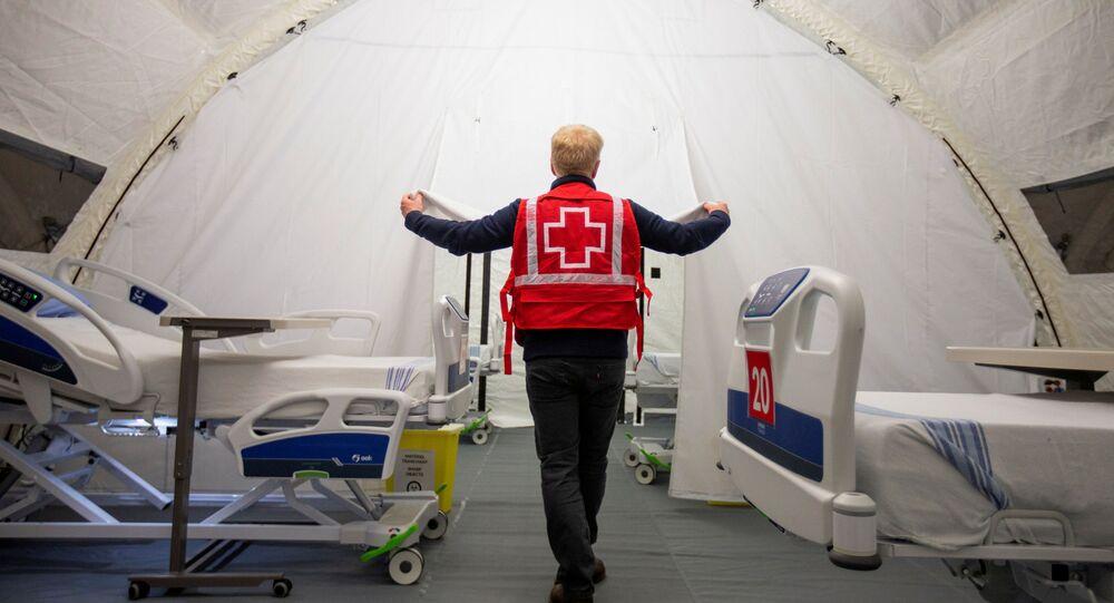 Un hôpital mobile à Montreal