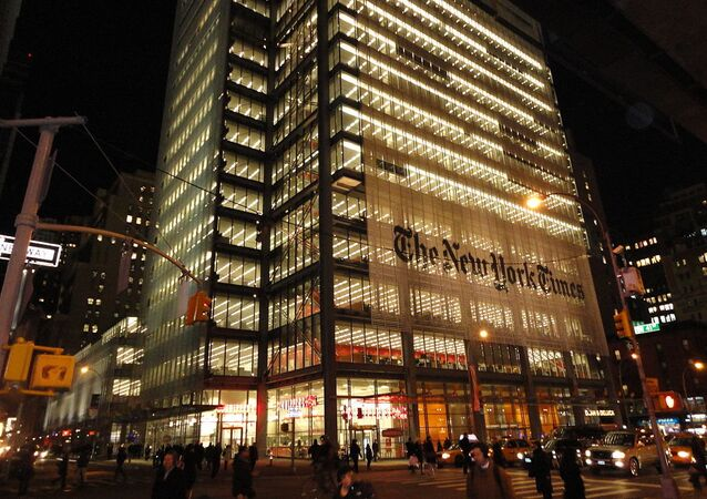 Le bâtiment du New York Times
