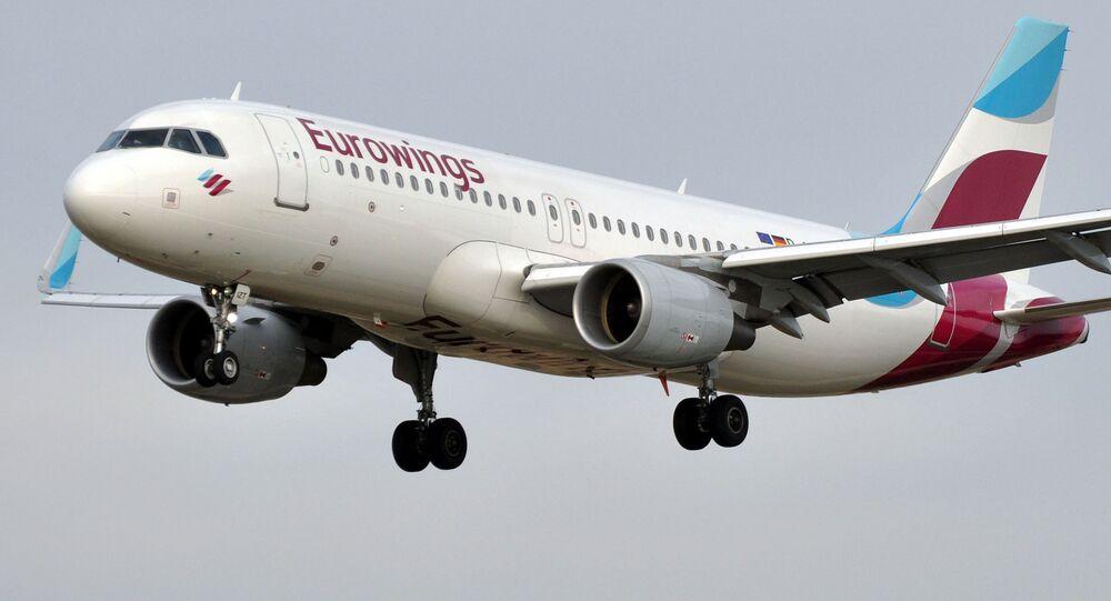 Avion de la compagnie aérienne Eurowings