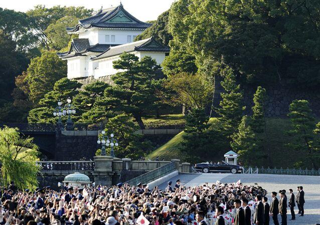 Le palais de l'Empereur Naruhito