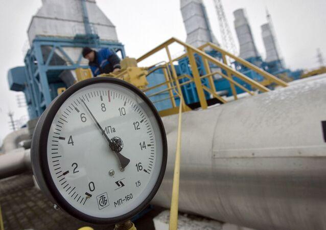 Une station de compression du gazoduc Yamal-Europe