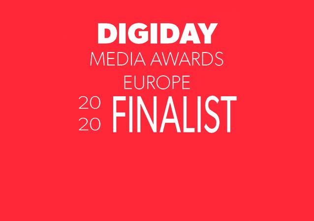 Digiday Media Awards Europe Finalist